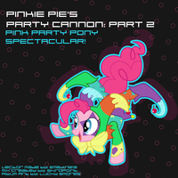 Party Cannon: Part 2 Ablum Artwork by LuckySmores