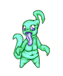 Pina The Goopy Tentacle Monster by Puck-Dragon