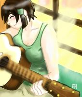 Crovix Playing Guitar by Tennessee11741