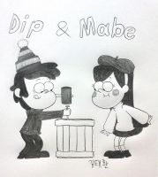 Dip and Mabe by komi114