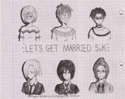Let's Get Married SnK by NemuiHypnos