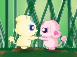 Mepple and Mipple by Blooddust13