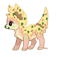 Funghi the pizza dog! by foxtribe