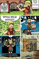 Resident Evil 4 - Spring Break by damnskippy