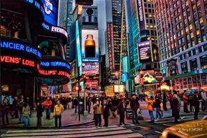 Times Square by photoman356