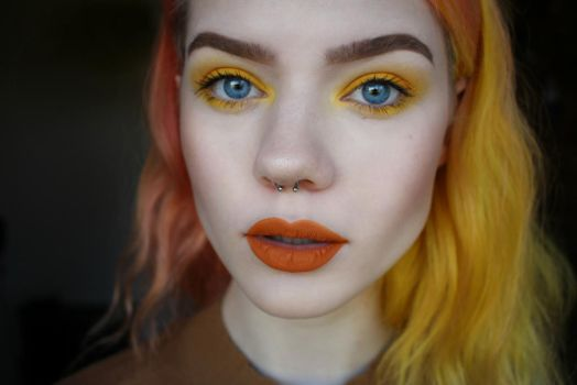 Yellow and Orange is Everything by milleviola