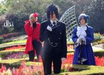 In Alois' garden by Vampire-Kitty333