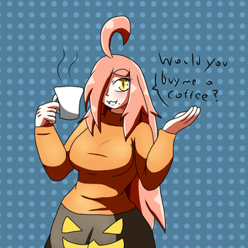 Buy me a coffee by MetaDoodles