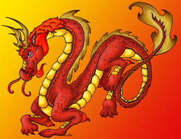 Red Dragon by AcaciaTree