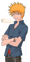 Bleach: Ichigo by jrevenge