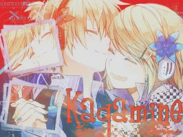 KagamineTwins - Wallpaper -- 1 by BloodyApple23