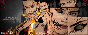 The Walking Dead by akyanyme
