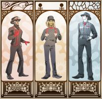 Steam Powered Giraffe by olafpriol