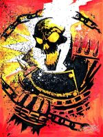 marker: Ghost Rider by KidNotorious
