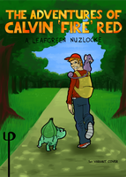 The Adventures of Calvin 'Fire' Red - Cover 1 by Phi8