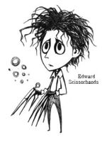 Edward Scissorhands by Hallpen