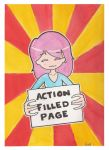 Action filled page by EnemyOfGravity