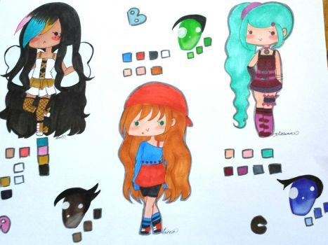 Long Wavy Hair Adopts CLOSED by DollFacedMassacre