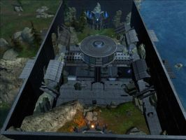 Halo Reach Map: Skirmish by KindiChan