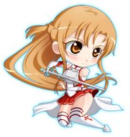 Asuna the Flash by Onirin