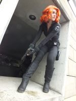 Black Widow Cosplay (Avengers Movie) by awesome-Kathi