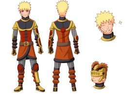 Naruto Design by Silent-Shanin