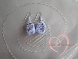 Lamington drop earrings by ilikeshiniesfakery