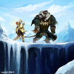 [Guild Wars 2] Ophaer and Pemphigo. by cacogenic