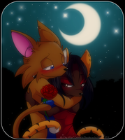 Comm: Moonlit Romance by Snowify