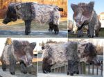 Wild Boar Plush Toy by Jarahamee
