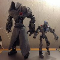The Grey Ghost and Agemo MK1 WIP by MrBoltTron