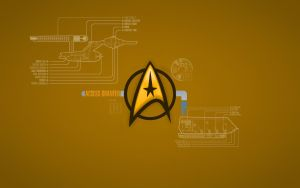 TOS Command Wallpaper by 1darthvader