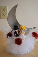 Sailor Moon Wedding Topper by Neo-Shadow-Bat