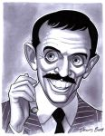 convention sketch 37 Gomez Addams by DennisBudd