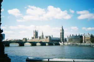 London - Houses of Parliament by willmeister42