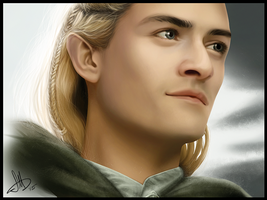 Legolas, of the Woodland Realm by SarahMillerCreations