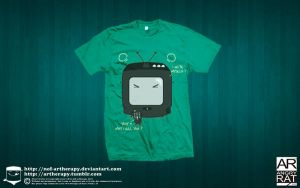 i hate myself tees by NOF-artherapy