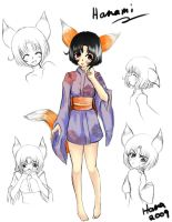 Hanami Reference sheet by Hana-Keijou
