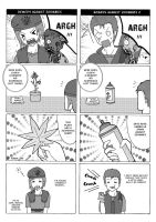 Resident Evil 4koma P2 by knil-maloon