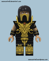 Lego Scorpion - Injustice by seancantrell