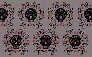 Day of the Dead Wallpaper 1 by lain56
