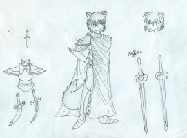 Knight of the Light or of the Darkness Ref WIP by Loup-de-Feu