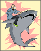 Veser Rides-With-Sharks Hatch by ZazzyPaws