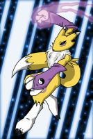 Renamon for Becky by Darin56