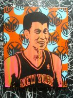 Jeremy Lin New York Knicks by chrispjones
