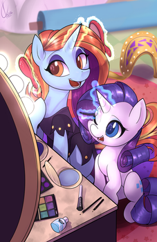 Getting Ready for the Day by Dreatos