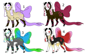 .:Bow Tail Adopts-CLOSED:. by LeeOko