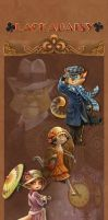 2013 Lackadaisy Banner - Brown by cacophonycat