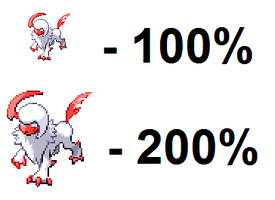 Angel Absol Sprites by MetalShadowOverlord