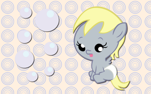 Baby Derpy Hooves WP by AliceHumanSacrifice0